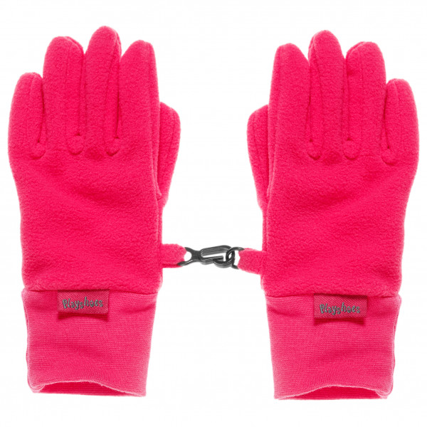 Playshoes - Kid's Finger-Handschuh Fleece - Handschuhe Gr 12-16 Years rosa 42204918