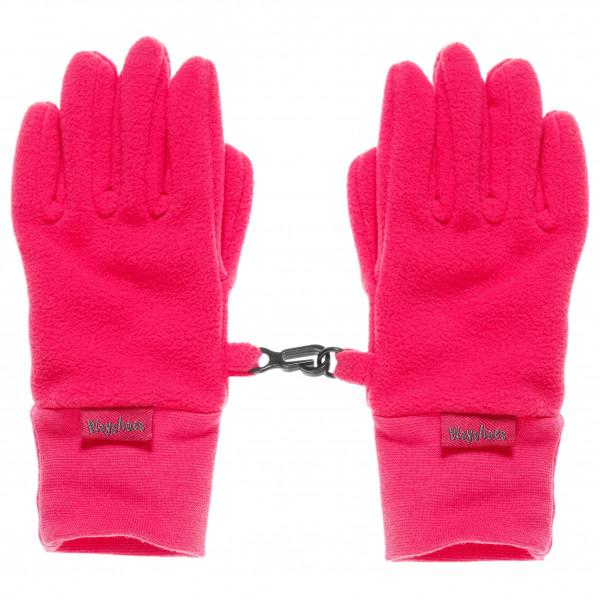 Playshoes - Kid's Finger-Handschuh Fleece - Handschuhe Gr 12-16 Years rosa 422049