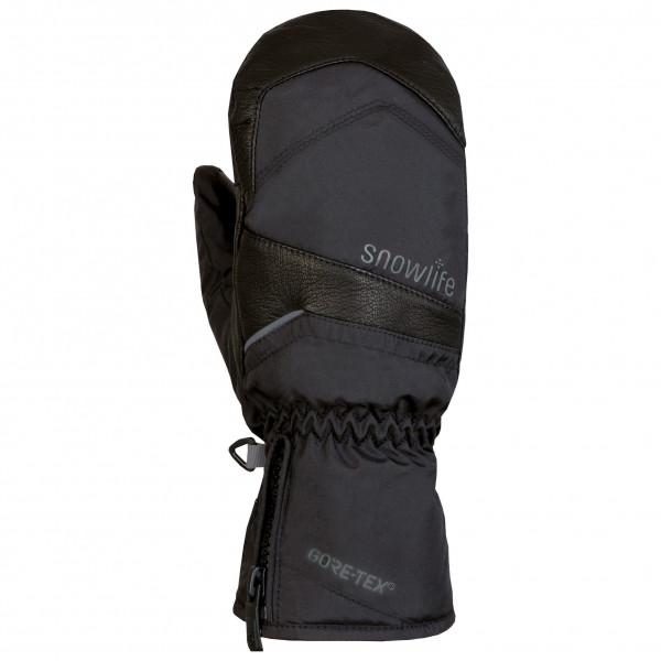 Snowlife - Womens Super Gtx Mitten - Gloves Size S  Black