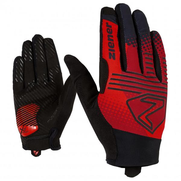 Ziener - Cobbs Touch Long Bike Glove - Gloves Size 9 5  Black/red