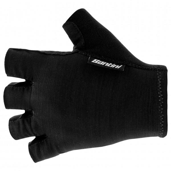 Santini - Cycling Glove Short Cubo - Gloves Size S  Black