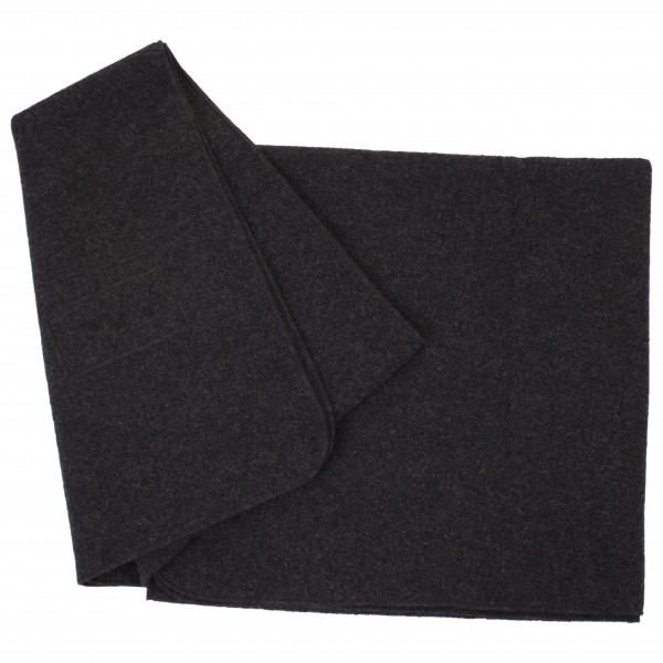 Mufflon - Blanket Logo - Wolldecke schwarz