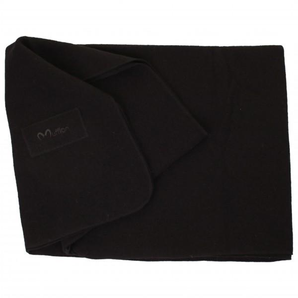 Blanket Logo - Wolldecke kohle