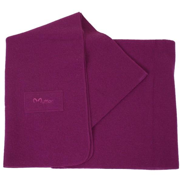 Blanket Logo - Wolldecke prurple