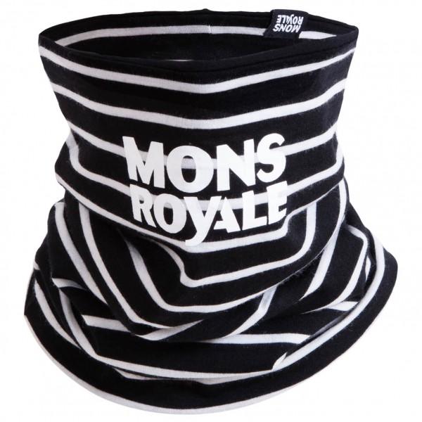 Mons Royale - Double Up Neckwarmer Schal Gr One Size schwarz;schwarz/grau;rot;grün;blau/schwarz Sale Angebote Pappenheim
