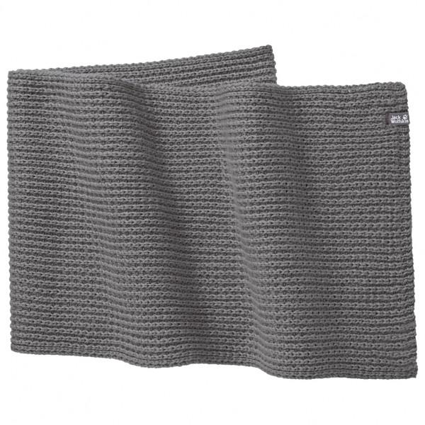 Jack Wolfskin - Milton Scarf - Schal Gr One Size grau/schwarz Preisvergleich