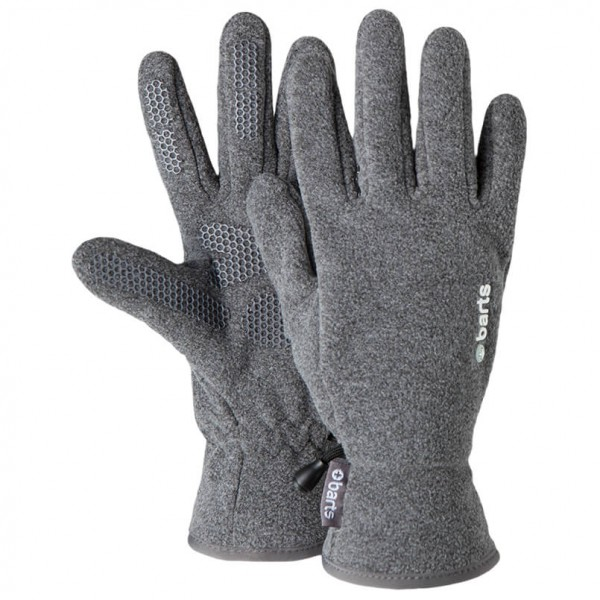 Barts - Kids Fleece Gloves - Handschuhe Gr 4 grau/schwarz