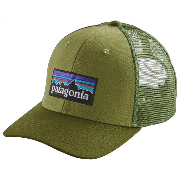 Patagonia - P6 Trucker Hat - Cap Gr One Size oliv