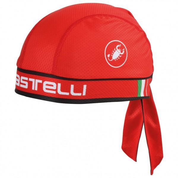 Castelli - Castelli Bandana - Radmütze Gr One Size rot 4513048023