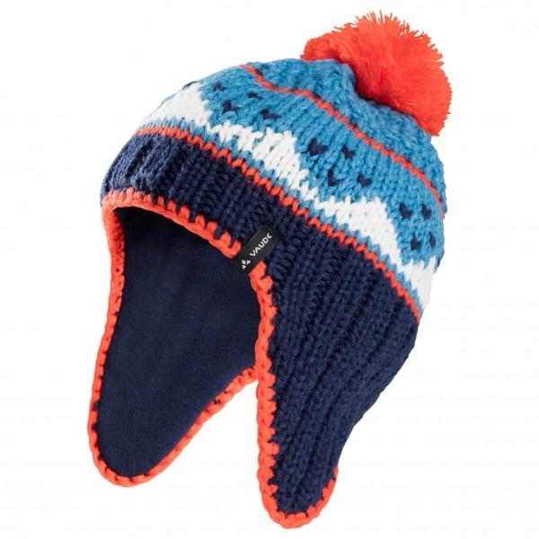 Vaude - Kids Knitted Cap IV - Bonnet taille S, bleu/noir