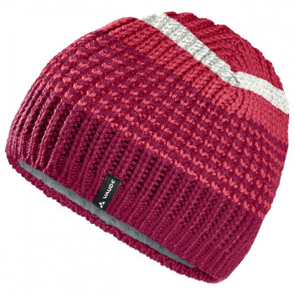 Vaude - Melbu Beanie IV - Bonnet taille One Size, rouge/rose