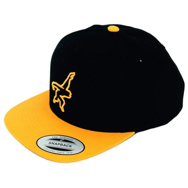 Gibbon Slacklines - Flexfit Snapback Cap Gr One Size schwarz/orange jetztbilligerkaufen