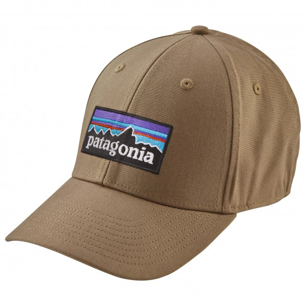 Patagonia - P-6 Stretch Fit Hat Cap Gr L braun