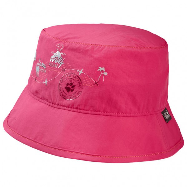 Jack Wolfskin Supplex Journey Hat Kids Hoed maat S roze