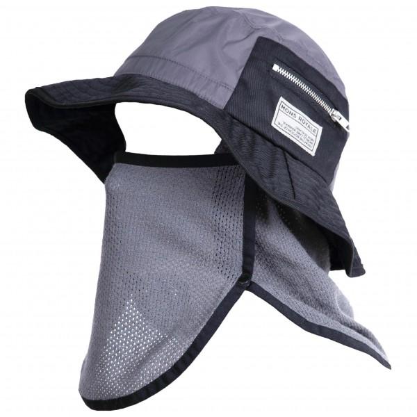 Mons Royale - Hopkins Bucket Hat Hut Gr L/XL grau/schwarz jetztbilligerkaufen