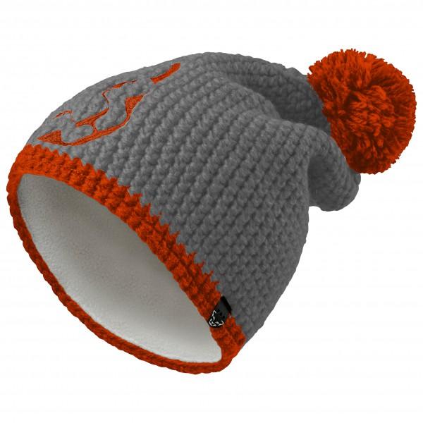 Dynafit - Denali Beanie - Mütze Gr One Size grau/schwarz/rot