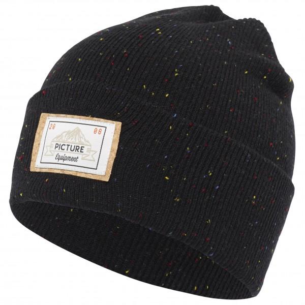 Picture - Uncle Beanie - Bonnet taille One Size, noir