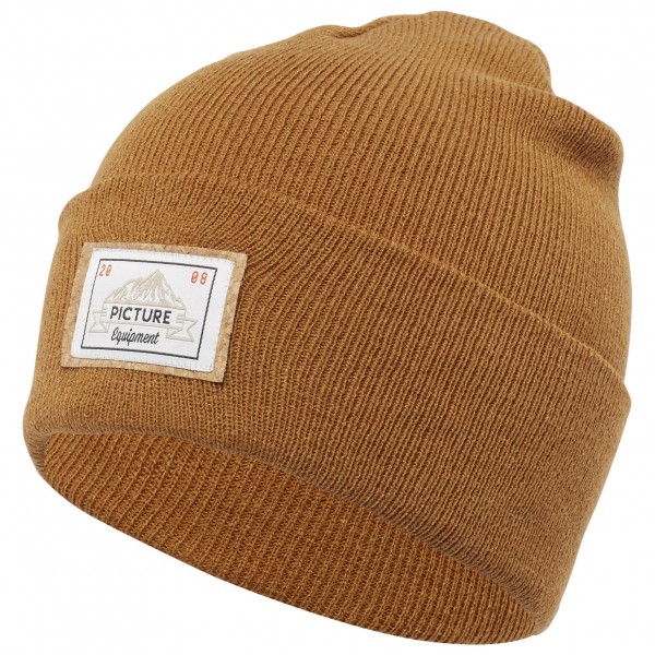 Picture - Uncle Beanie - Bonnet taille One Size, brun