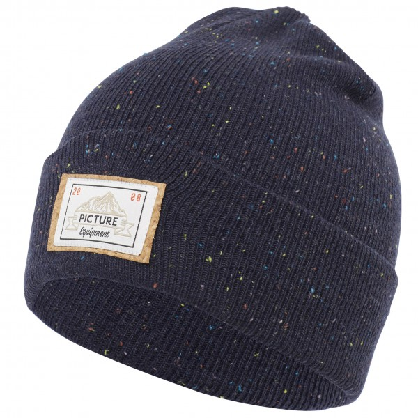 Picture - Uncle Beanie - Bonnet taille One Size, noir