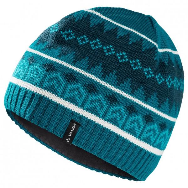 Vaude - Valdres Beanie II - Bonnet taille One Size, turquoise/bleu/noir