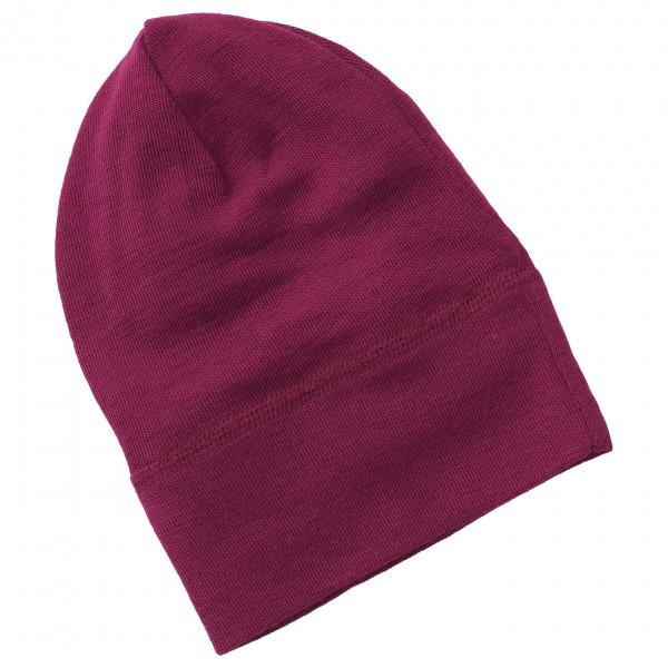 Engel - Baby Mütze Wolle/Seide - Mütze Gr 86/92 lila 705540-04-8692
