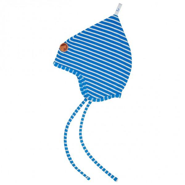 Finkid - Kid´s Popili Mütze Gr 44;46;48;50;52 grau/schwarz;blau/grau;rot/rosa
