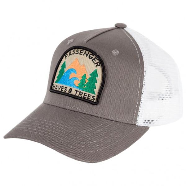 Passenger - Highbanks Cap - Cap Gr One Size grau/weiß