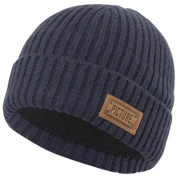 Picture - Ship Beanie - Bonnet taille One Size, noir