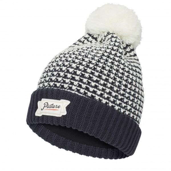 Picture - Ale Beanie - Bonnet taille One Size, noir/gris/blanc