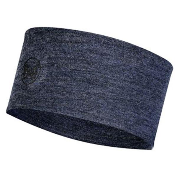 Buff - 2-Layers Midweight Merino Wool Headband - Stirnband Gr One Size blau/schwarz 118174.779.10.00