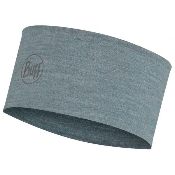 Buff - 2-Layers Midweight Merino Wool Headband - Stirnband Gr One Size blau/schwarz 118174.609.10.00