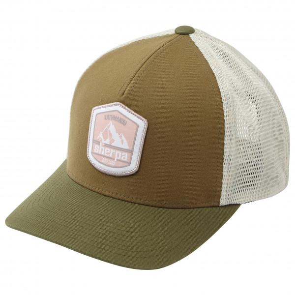 Sherpa - Patch Trucker Hat - Cap Gr One Size braun/grau/oliv KH1248214
