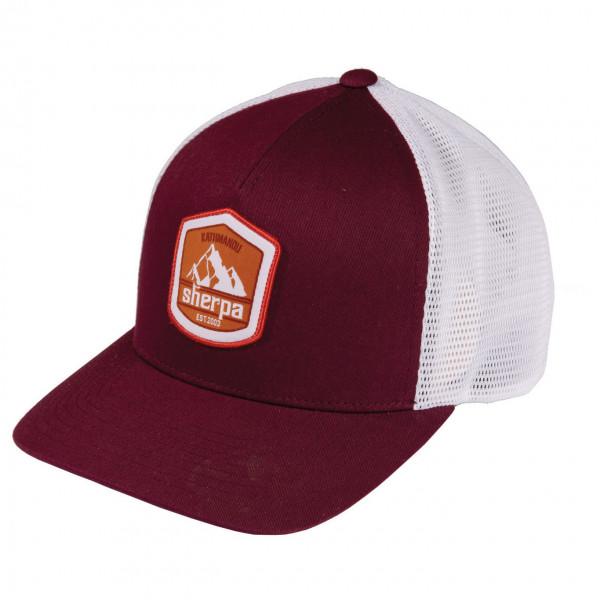 Sherpa - Patch Trucker Hat - Cap Gr One Size lila/grau KH1248683