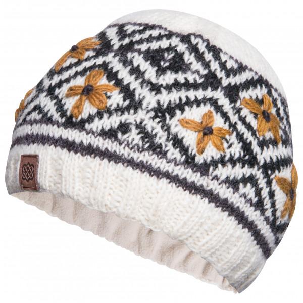 Sherpa - Nitya Hat - Bonnet taille One Size, gris/blanc/noir