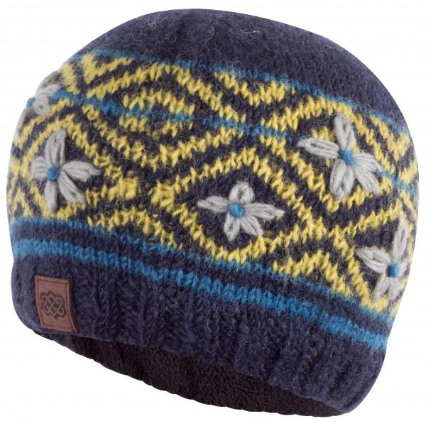 Sherpa - Nitya Hat - Bonnet taille One Size, noir/gris