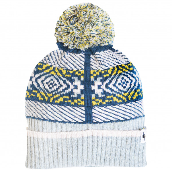 Smartwool - Chup Speren Beanie - Bonnet taille One Size, gris/blanc/bleu
