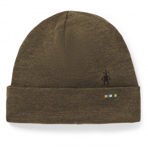 Smartwool - Merino 250 Pattern Cuffed Beanie - Bonnet taille One Size, brun