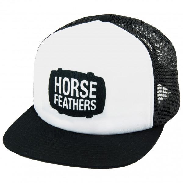 *Horsefeathers – Landen Cap Gr One Size schwarz/weiß*