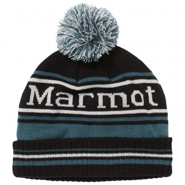 Marmot - Retro Pom Hat - Mütze Gr One Size schwarz/grau 17410-1598-ONE