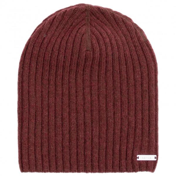 Sätila - Geilo - Mütze Gr One Size rot;grau S9150113058