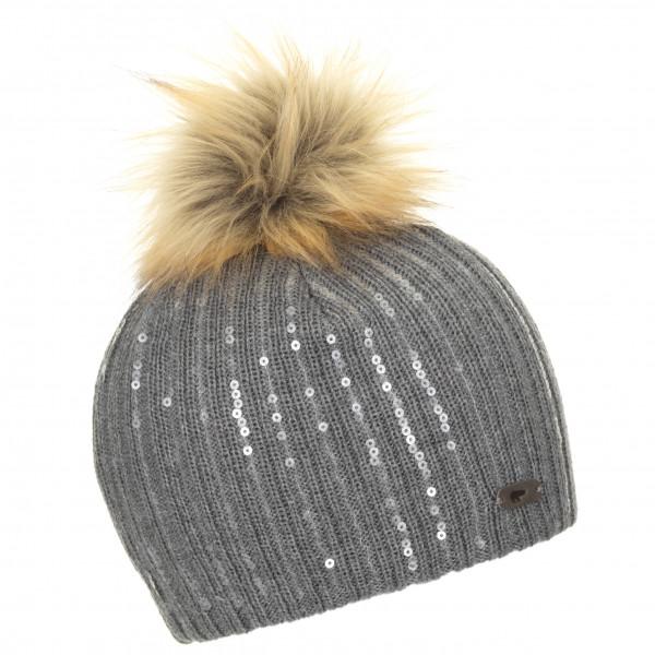 #Eisbär – Magalie Lux Mütze Gr One Size grau#