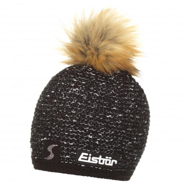 #Eisbär – Philine Lux Crystal Mütze SP Gr One Size schwarz#