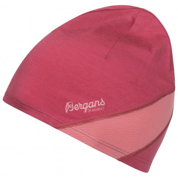 Bergans - Women's Cecilie LT Wool Beanie - Mütze Gr 58 cm rosa/rot 228263