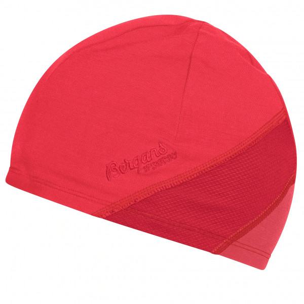 Bergans - Women's Cecilie LT Wool Beanie - Mütze Gr 56 cm;58 cm grau/türkis;rosa/rot 8822