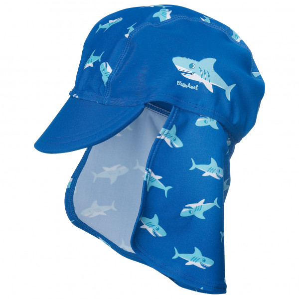 Playshoes - Kids Uv-schutz Mtze Hai - Cap Size 49 Cm  Blue