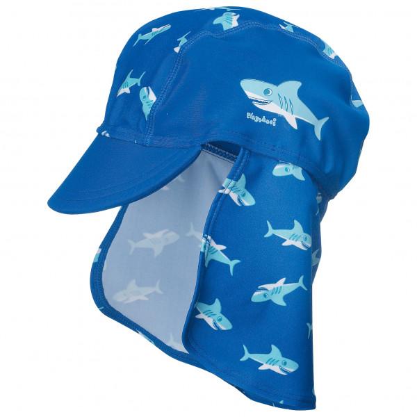 Playshoes - Kid's UV-Schutz Mütze Hai - Cap Gr 51 cm blau 460128-7