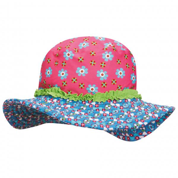 Playshoes - Kid's UV-Schutz Sonnenhut Blumen - Hut Gr 51 cm rosa 460277-18