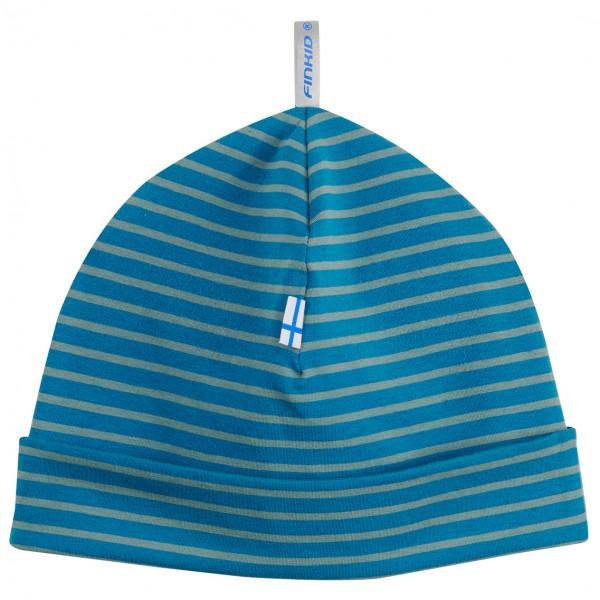 Finkid - Kids Hitti CapsandHats - Beanie Size 48 Cm  Blue/turquoise