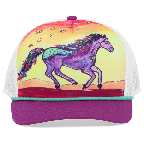 Sunday Afternoons - Kid's Artist Series Cooling Trucker - Cap Gr M/L rosa/lila S2D04725B71107