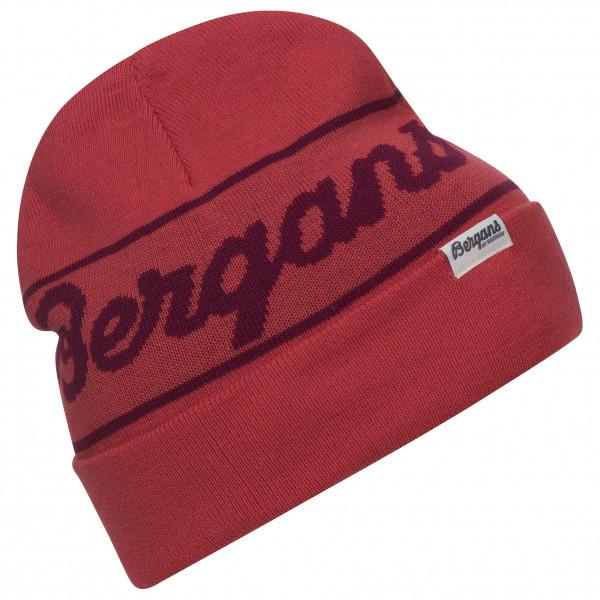 Bergans - Bergans Logo Beanie - Mütze Gr One Size rot 213887